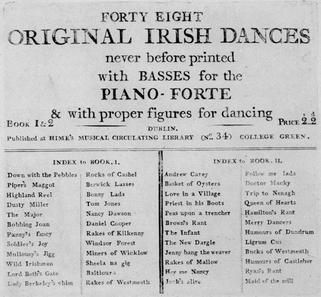 48 Irish Dances