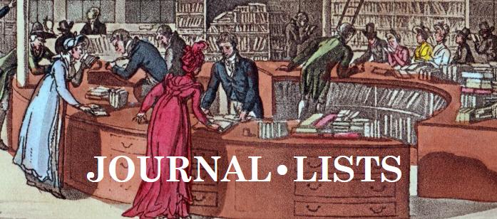 journal lists
